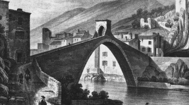 NYONS (26) - Pont gothique