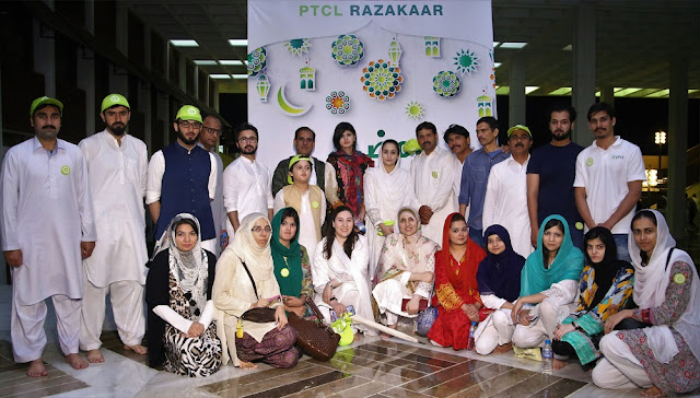 PTCL Continues The Tradition of Community Iftaars Across Pakistan