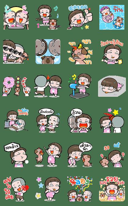 NomYen & HuaKrien Pop-Up Stickers 3