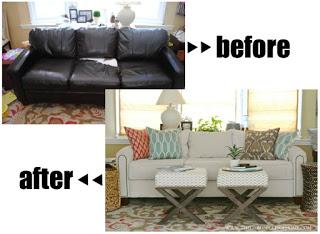 cara ganti kulit sofa