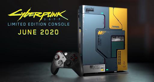 Une XBOX One X aux couleurs de Cyberpunk 2077 !