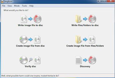 Cara Burning File Atau Data ke CD/DVD Menggunakan ImgBurn (Lengkap Dengan Gambar)