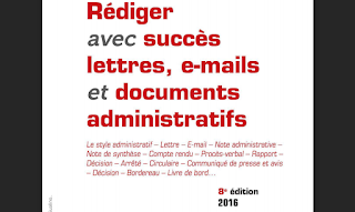 """""""Rédiger avec sucees ' lettres, e-mails et documents administratifs"""" avec format pdf"""