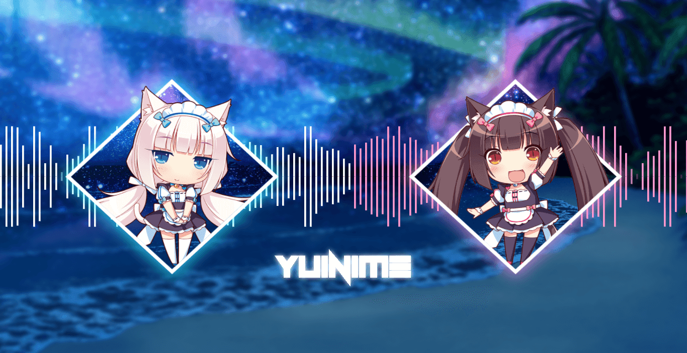 Nekopara | Chocola and Vanilla [Wallpaper Engine Audio Responsive]