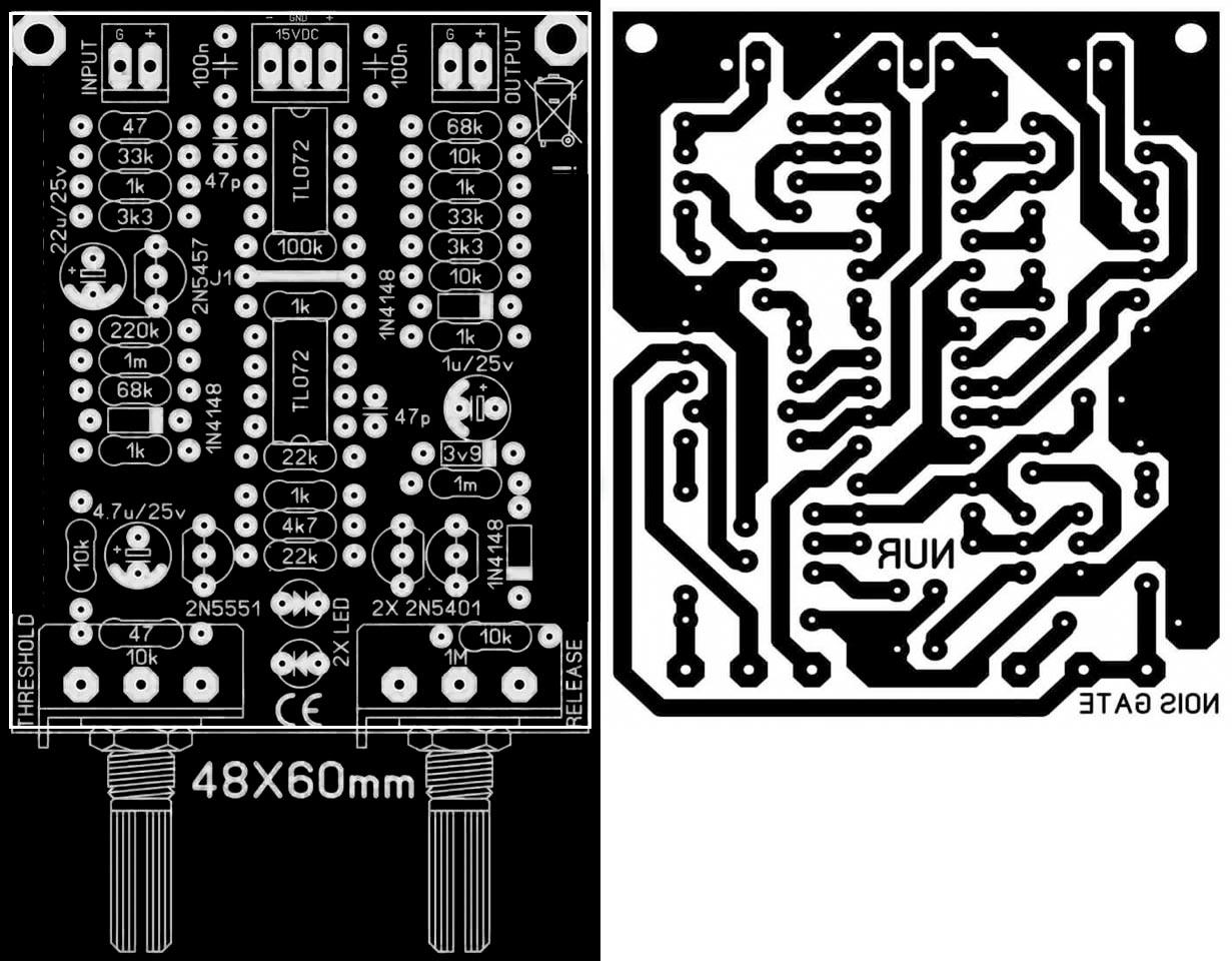 Axl Bass Wiring Diagram Pcb Layout Design Electronic Circuit