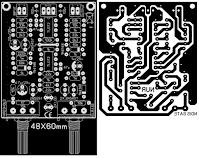 PCB NOise Gate driver circuit