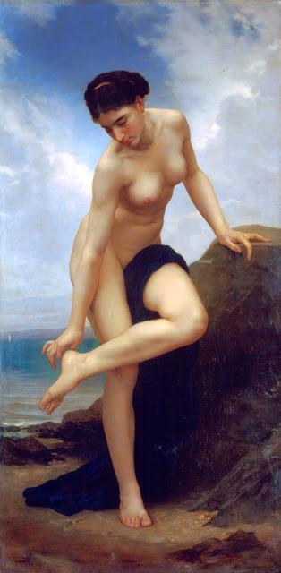 Адольф Вильям Бугро - После купания (1875)