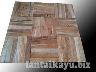 harga lantai kayu mozaik jati
