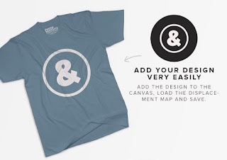 add your design very easily using photoshop and edit the logo on the t shirt