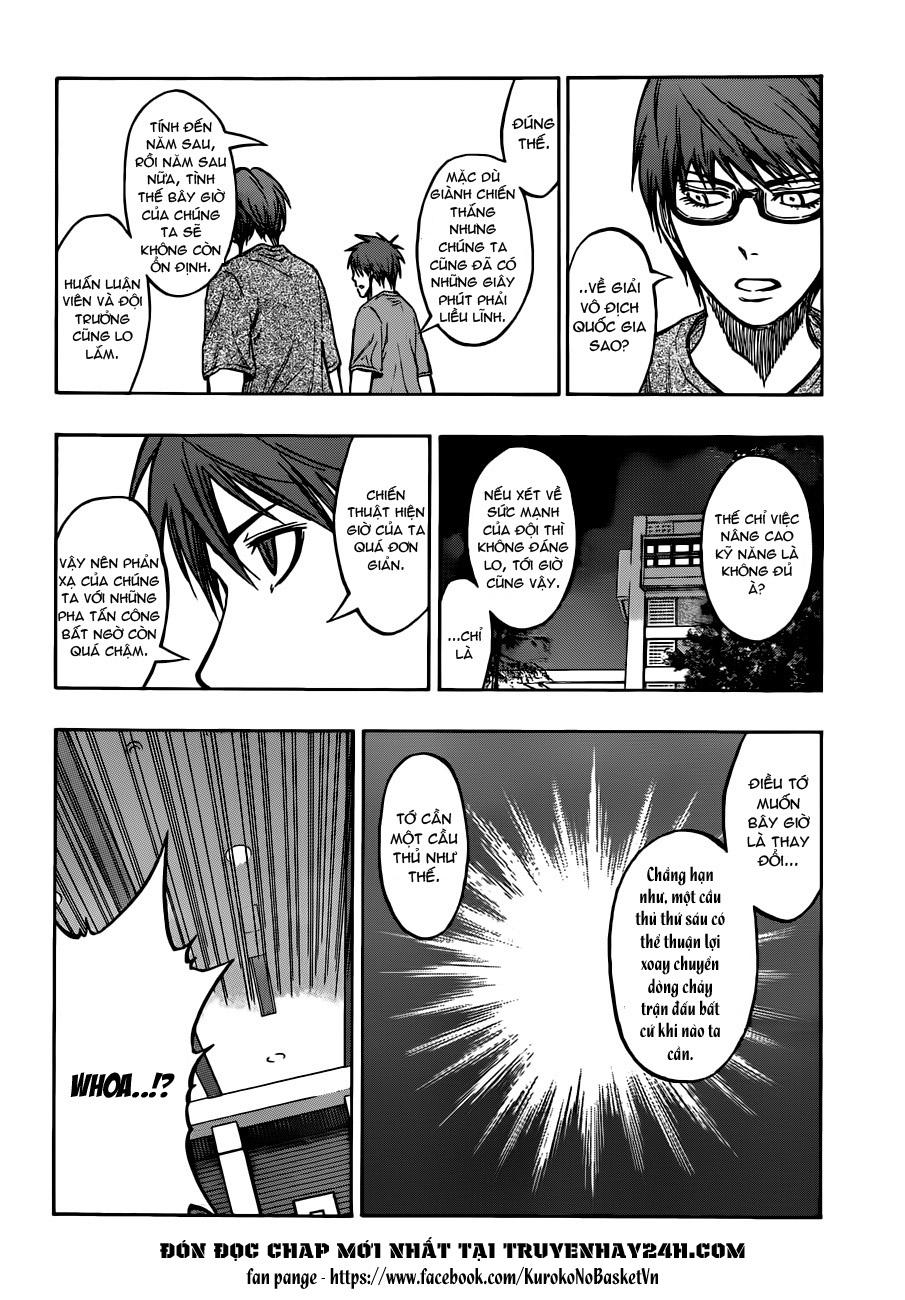 Kuroko No Basket chap 205 trang 10