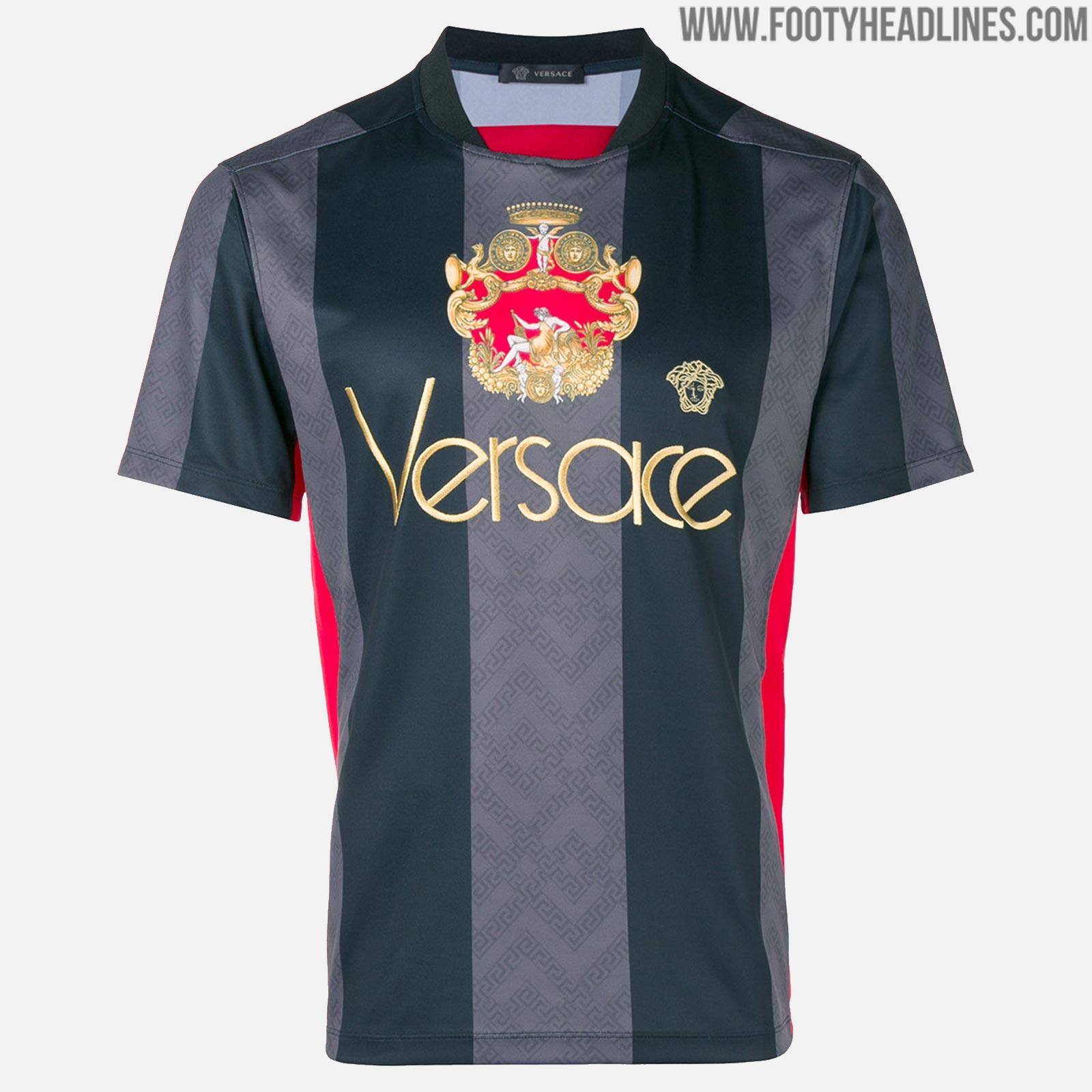 824 USD - Second Versace Football Kit Released - Footy Headlines c401dccc3