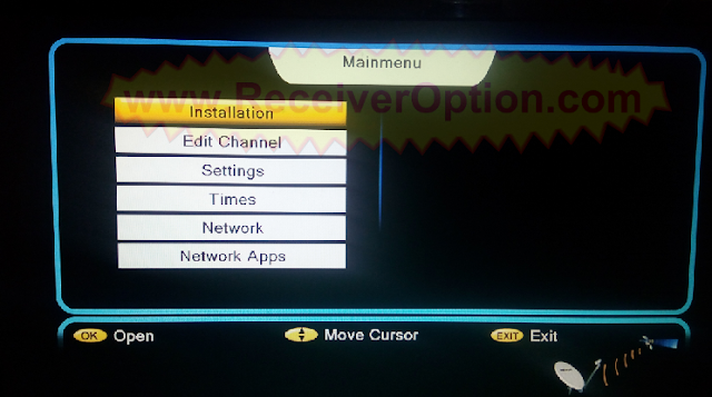 ALI3510C HW102.02.999 BLACK MENU NEW SOFTWARE WITH XTREAM IPTV