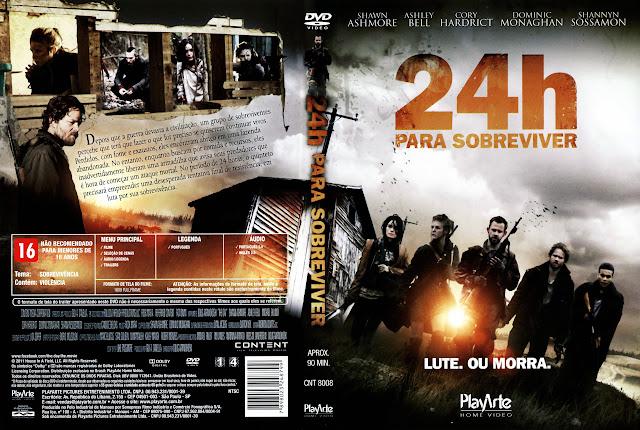 Capa DVD 24h PARA SOBREVIVER