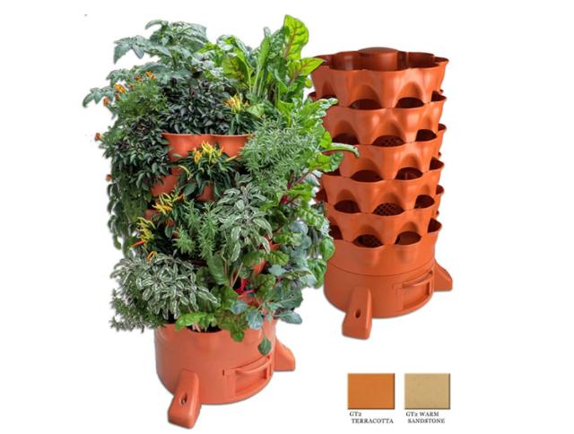 Garden Tower 2, Plant Composting, Vertical Garden Planter