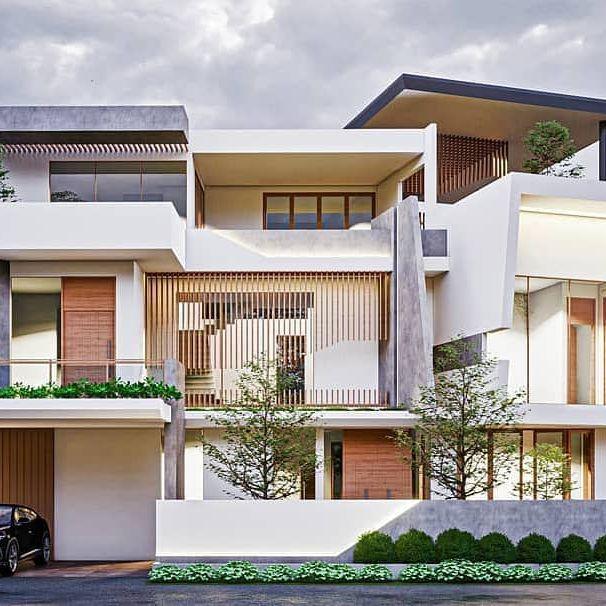 desain rumah amerika klasik