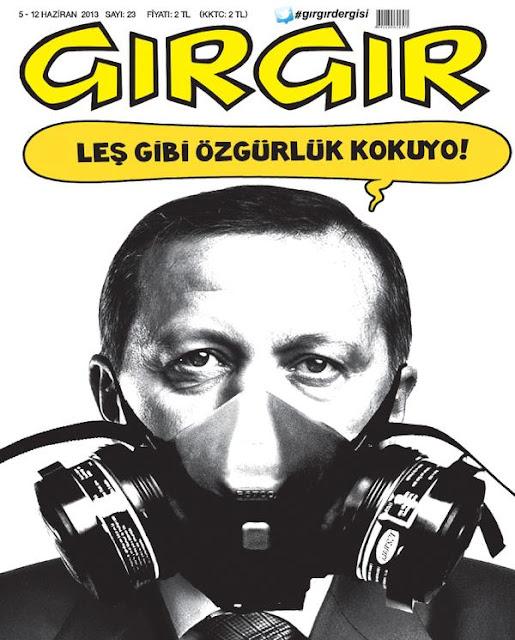 gezi parkı tayyip erdoğan gırgır dergisi