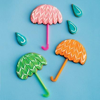 Umbrella Cookies Recipe