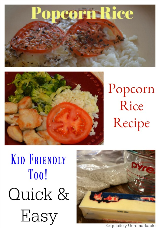 Easy Popcorn Rice Recipe