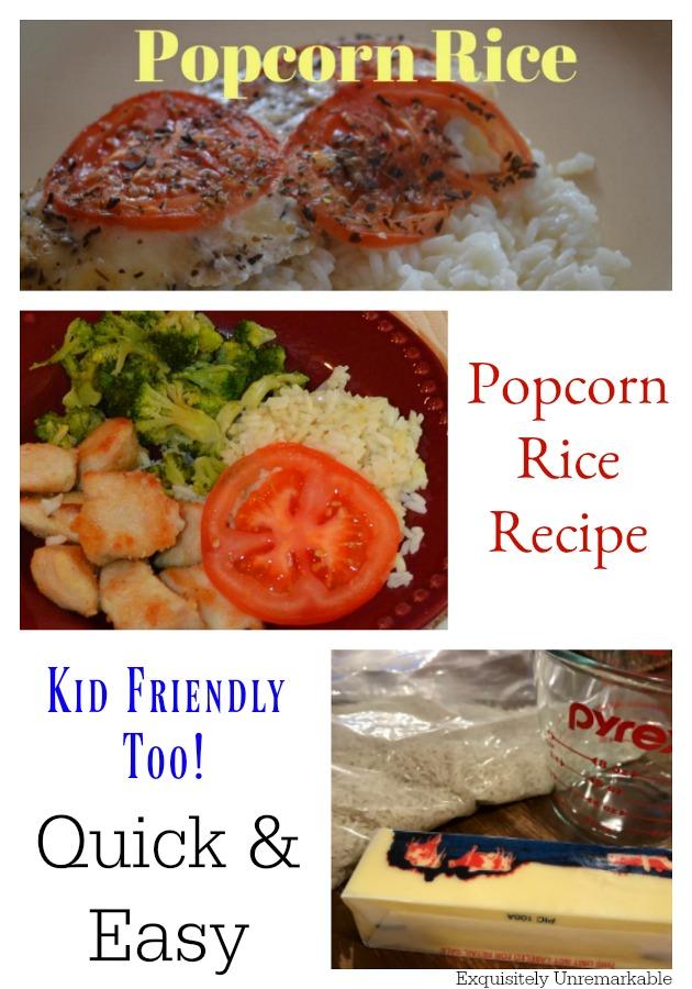 Easy Popcorn Rice Recipe