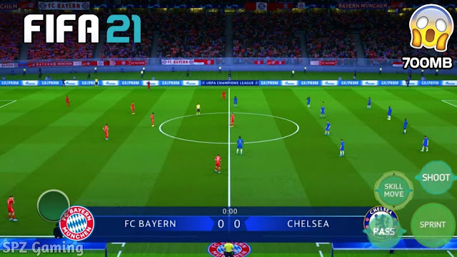 FIFA 21 Android Offline 700MB Best Graphics Apk+Obb