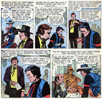 Wyatt Earp 25 Gunsmoke Kid Origin