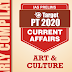 GS Score Target PT 2020 Art & Culture Current Affairs PDF Download in English