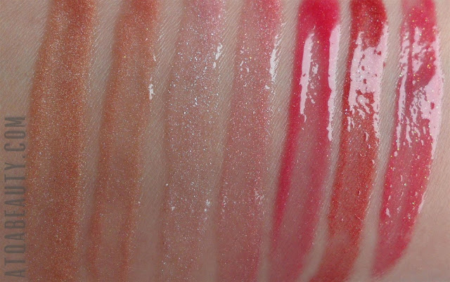 Sensique, Colorful Dream Lip Gloss, 300, 301, 302, 303, 304, 305, 306