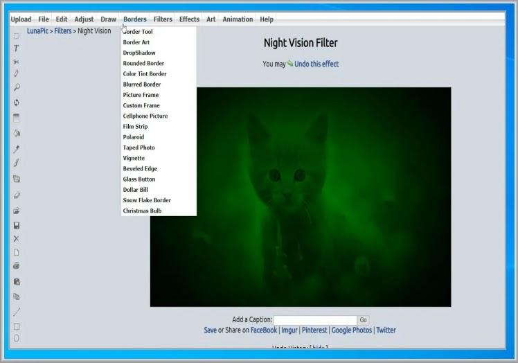 Lunapic Image Edit : Επεξεργαστείτε εύκολα  τις φωτογραφίες σας online