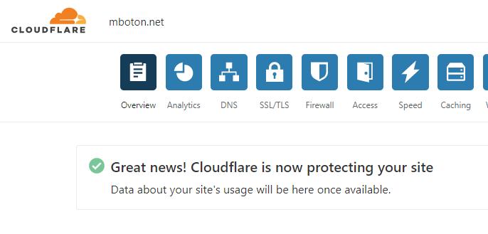 Cara Pasang Cloudflare Di Blogger Mboton Dev