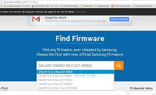 sammobile website Samsung galaxy Grand Neo
