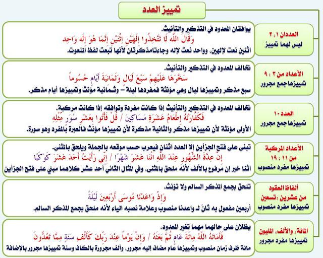 """انفراد.... كل قواعد اللغة العربية لطلاب """"ابتدائي - اعدادي - ثانوي"""" في صورة لوحات مبسطة مع الشرح والتدريبات 91"""
