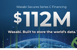 Wasabi scores $112M  for cloud storage that's cheaper than AWS S3