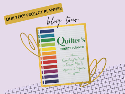 Quilter's Project Planner graphic for an upcoming blog hop