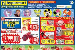 Katalog Promo Hypermart Weekend Terbaru 15 - 18 November 2019