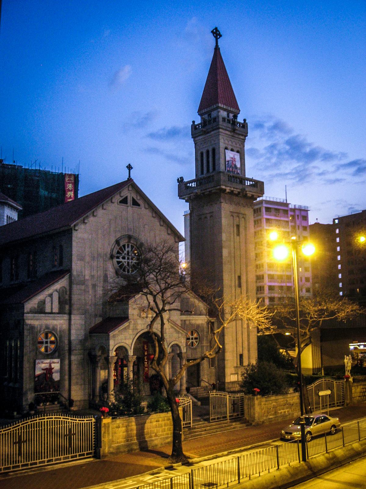 St. Teresa | Kowloon, Hong Kong | stepping into church, one at a time