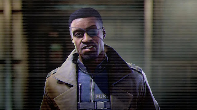 marvel's avengers war table Shield Dum Dum Dugan Nick Fury Maria Hill news update, online co-op gameplay missions, character selection skins, teaser