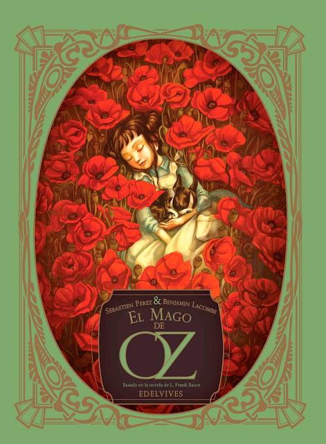 Benjamin Lacombe Portada del Libro El mago de Oz