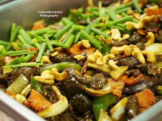 Sauteed Beef Cashew Nut