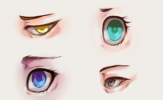How To Draw And Color Eyes 8
