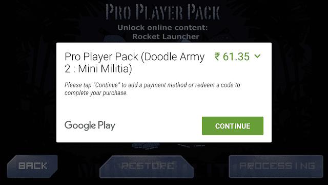 mini militia hack apk