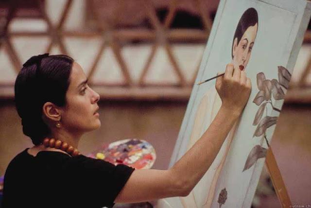 Frida Kahlo obras no filme