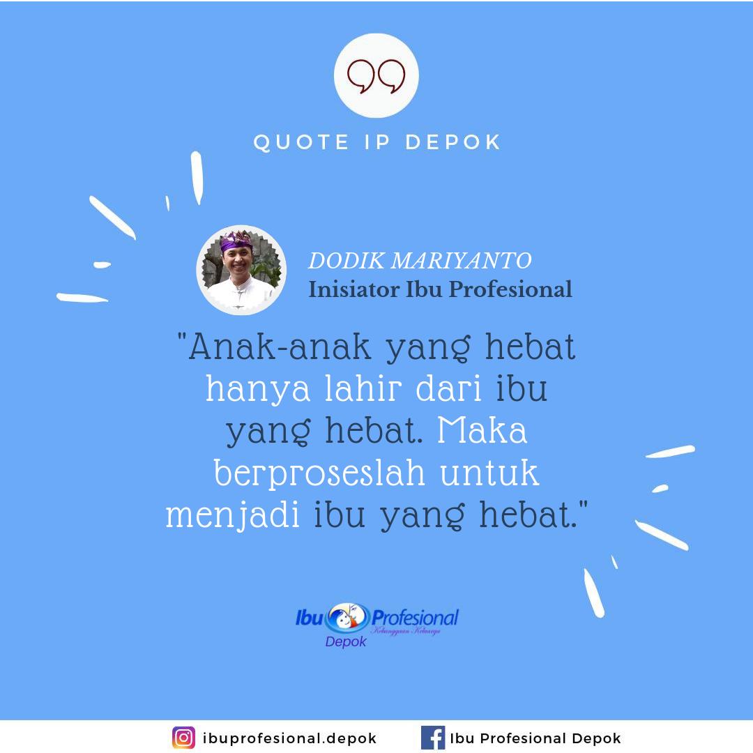 Quote Inspiratif Pak Dodik Mariyanto Inisiator Komunitas