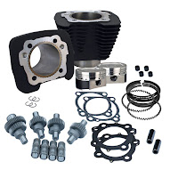 883cc to 1200cc black kit