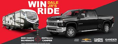 #Win Dale Jr.'s Ride