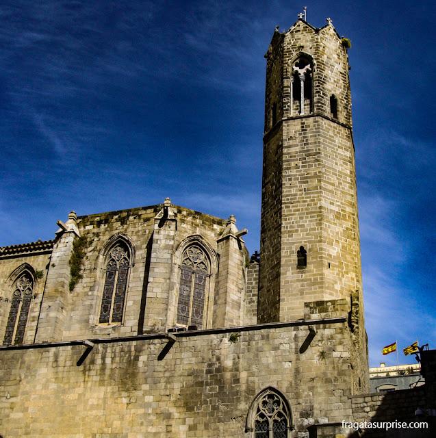 Catedral de barcelona, no Bairro Gótico