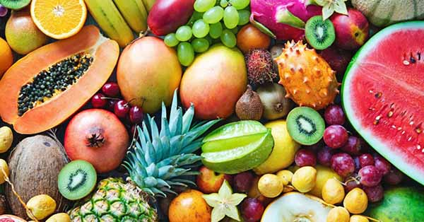 A collection of fruits