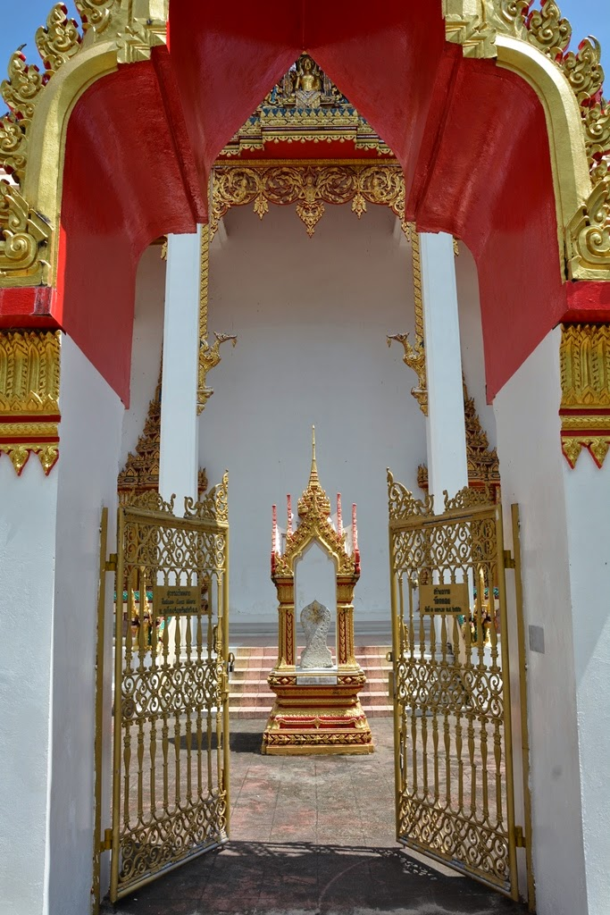Wat Chalong Temple Phuket gate