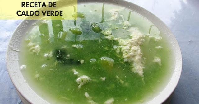 sopa verde de huancayo