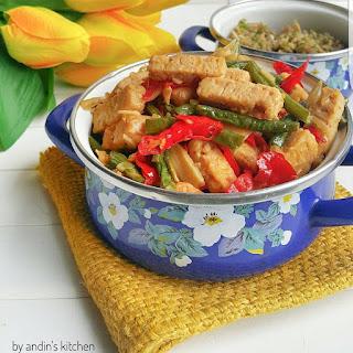 Ide Resep Masak Sayur Oseng Tempe Kacang Panjang