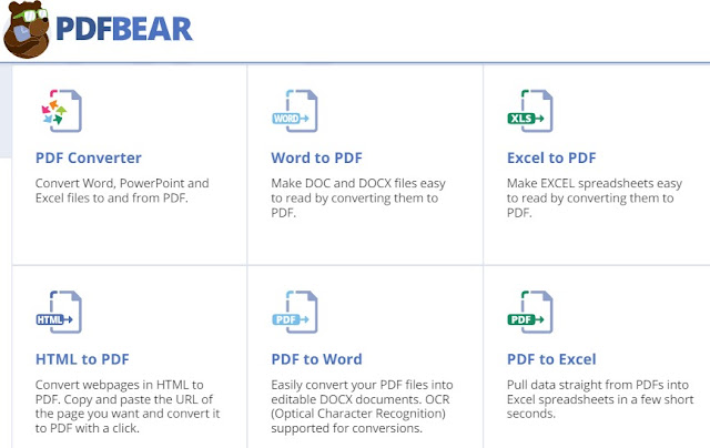 PDFBear configurations